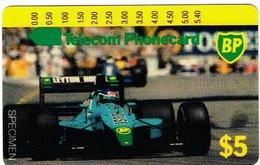 Australie Australia Telecarte Phonecard SPECIMEN BP Oil Car Sport Voiture Course Neuve Mint TBE - Australia