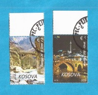 2018  EUROPA CEPT  PONTI BRUECKEN KOSOVO Used - Kosovo