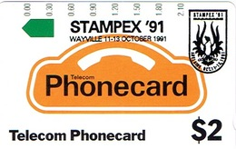 Australie Australia Telecarte Phonecard Privee Stampex 91 Wayville Oiseau Neuve Mint TBE - Australia