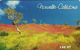 Nouvelle Caledonie Noumea Telecarte Phonecard Publique NC79 Col Amos Paysage Niaouli Arbre Ut. BE - New Caledonia