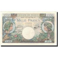 France, 1000 Francs, 1 000 F 1940-1944 ''Commerce Et Industrie'', 1944-07-20 - 1871-1952 Antiguos Francos Circulantes En El XX Siglo