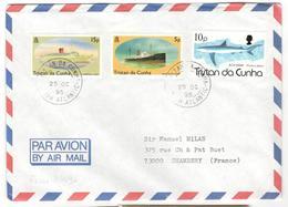 3633 - Pour La France - Tristan Da Cunha