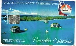 Nouvelle Caledonie Telecarte Phonecard Prive Baie Upi Ile Des Pins Kunie Numerotee NC 19 Neuve Sous Blister Mint TB - New Caledonia