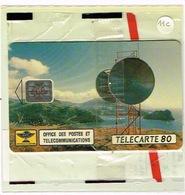 Nouvelle Caledonie Telecarte Phonecard Publique Relais Opt Canal Woodin RARE NC 11C SC4 Neuve Sous Blister TBE RRRRR - New Caledonia