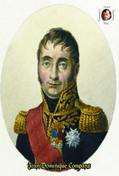 Carte Postale, Célébrités, Napoleon, French Commanders Of Napoleonic Wars, Jean Dominique Compans - Politieke En Militaire Mannen