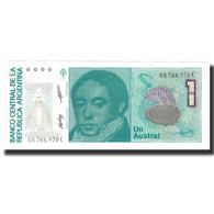 Billet, Argentine, 1 Austral, 1988, KM:323b, NEUF - Argentina