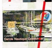 Nouvelle Caledonie Telecarte Phonecard Privee Cercle Nautique Cnc Voilier N 25 Neuve Sous Blister Us Courant - New Caledonia