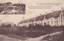 CPA Lens, La Renaissance Des Cités Ouvrieres, La Cité N°12 Et Sa Fosse En 1918 Et Actuellement (pk47431) - Lens