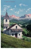 St. Cyprian Mit Rosengarten - Kirche -  Non Circolato - Bolzano (Bozen)