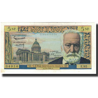 France, 5 Nouveaux Francs, 5 NF 1959-1965 ''Victor Hugo'', 1963-02-07, SPL - 1955-1959 Surchargés En Nouveaux Francs