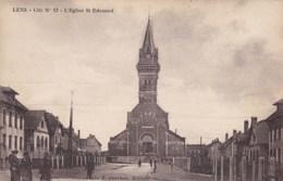 CPA Lens, L'Eglise St Edouard (pk47438) - Lens