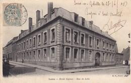 CPA Lens, Ecole Carnot, Rue De Lille (pk47439) - Lens