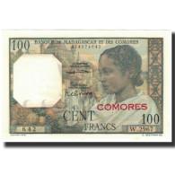 Billet, Comoros, 100 Francs, 1963, KM:3b, NEUF - Comoros