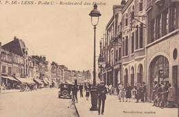 CPA Lens, Boulevard Des Ecoles (pk47449) - Lens