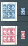 NEW ZEALAND - MVLH/* - 1963 - HEALTH - Sc B65-66 Yv Bloc 13-14 Mi 425-426 MS816a - Lot 17116 - NEARLY MNH/** - New Zealand