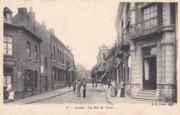 CPA Lens, La Rue De Paris (pk47450) - Lens