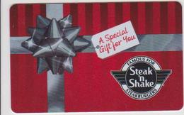 GIFT CARD - USA - STEAK 'N SHAKE-005 - A SPECIAL GIFT FOR YOU - Gift Cards