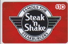GIFT CARD - USA - STEAK 'N SHAKE-030 - Gift Cards