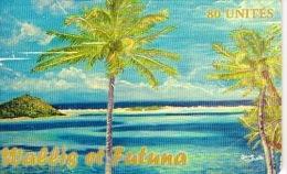 Wallis Zt Futuna Telecarte Phonecard Publique WF24 Non Numerotee Dessin Cathala BE - Wallis En Futuna