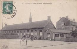 CPA Lens, Ecole Des Filles, Saint Edouard (pk47454) - Lens
