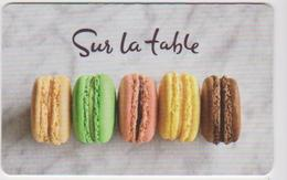 GIFT CARD - USA - SUR LA TABLE 01 - Gift Cards