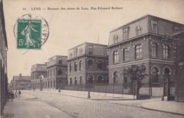 CPA Lens, Bureaux Des Mines De Lens, Rue Edouard Bollaert (pk47460) - Lens