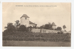 Rochefort. Le Vieux Chateau De Mandrin (3651) - Other Municipalities