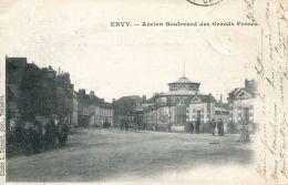 N°1245 A -cpa Ervy -ancien Boulevard Des Grands Fossés- - Ervy-le-Chatel
