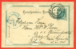 Austria 1903. Postcard Really Passed The Mail With Photo. - Austria
