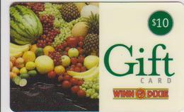 GIFT CARD - USA - WINN DIXIE-006 - PINE APPLE - WATERMELON - LEMON - APPLE - Gift Cards
