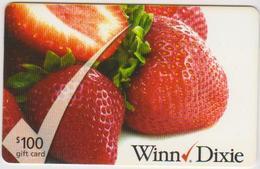 GIFT CARD - USA - WINN DIXIE-013 - STRAWBERRY - Gift Cards
