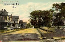 Canada Sydney, Park Street ... W008 Used 1909 - Cape Breton