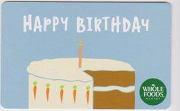 GIFT CARD - USA - WHOLE FOODS-031 - Gift Cards