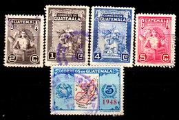 Guatemala-0124 - Emissione 1948-1949 (o) Used - - Guatemala