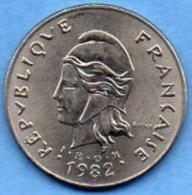 (r65) FRENCH POLYNESIA / POLYNESIE  50 Francs 1982 - French Polynesia