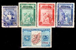 Guatemala-0125 - Emissione 1948-1949 (o) Used - - Guatemala