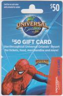 GIFT CARD - USA - UNIVERSAL - SPIDERMAN - Gift Cards