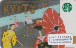 GIFT CARD - STARBUCKS - JAPAN - 6131 - KYOTO - 2016 - Gift Cards