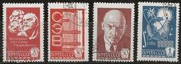 Russie 1977 N°Y.T. : 4400 à 4403 Obl. - 1923-1991 URSS