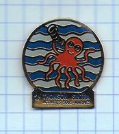 Pin's Pins / THEME- THOMSON SINTRA ASM ACTIVITES SOUS-MARINES PIEUVRE PLONGEE Sonars - Militaria Lutte Sous-marine - Militaria