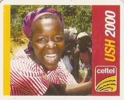 *UGANDA* -  Scheda Usata (mini Card) - Uganda
