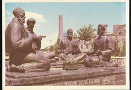 Samarkand -- Monument To Uzbek Folk Poets - Uzbekistan