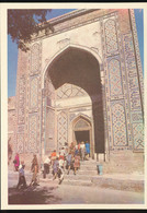 Samarkand -- Shahi - Zinda Ensemble -- Entrance Portal - Uzbekistan