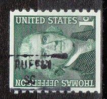 USA Precancel Vorausentwertung Preo, Locals South Carolina, Ruffin 841 - United States