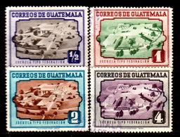 Guatemala-0129 - Emissione 1951 (o) Used - - Guatemala