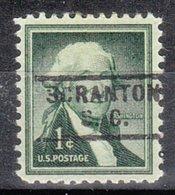 USA Precancel Vorausentwertung Preo, Locals South Carolina, Scranton 729 - Vereinigte Staaten
