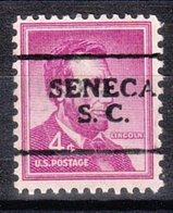 USA Precancel Vorausentwertung Preo, Locals South Carolina, Seneca 701 - Vereinigte Staaten