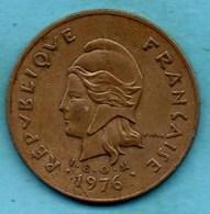(r65)   FRENCH POLYNESIA / POLYNESIE  100 Francs 1976 - French Polynesia