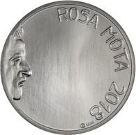 Portugal  7.50euro  - Atleta  Rosa Mota - 2018  Silver - Portugal