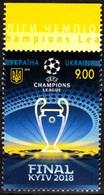 UKRAINE 2018-11 Soccer Football. UEFA Champions League Final, MNH - Andere